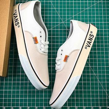 OFF WHITE x Vans Era VN000D3HY28 Shoes - Best Online Sale