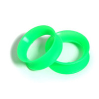 Kaos Softwear Green Earskin Plugs 2 Pack