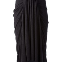 Rick Owens Lilies Mermaid Midi Skirt