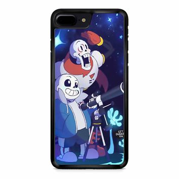 Undertale - Sans And Papyrus Waterfall iPhone 8 Plus Case