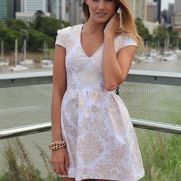 GOLD FOIL DRESS , DRESSES, TOPS, BOTTOMS, JACKETS & JUMPERS, ACCESSORIES, SALE, PRE ORDER, Australia, Queensland, Brisbane