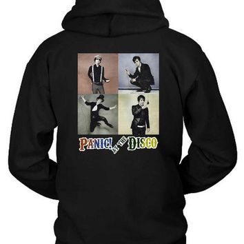 PEAP1GW Panic At The Disco Photo Vintage Four Hoodie Two Sided