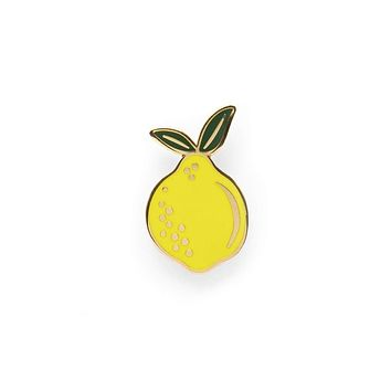 Rifle Paper Co Lemon Enamel Pin