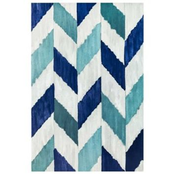 Blue Herringbone Canvas Art | Shop Hobby Lobby