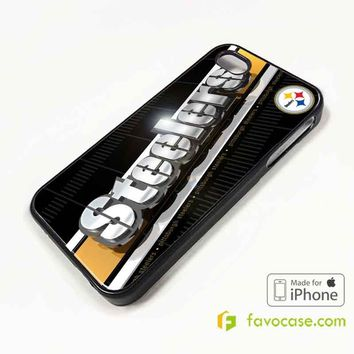 PITTSBURGH STEELERS Football Team NFL iPhone 4/4S 5/5S/SE 5C 6/6S 7 8 Plus X Case Cover