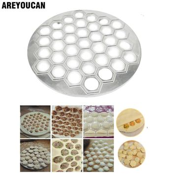37 Holes Ravioli dumplings Tool maker mold Aluminum Samosa Cooker russian pelmeni maker Dumplings Making Mold