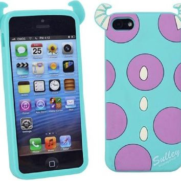 Huaxia Datacom Cute Cartoon Disney Monster University Disney Bee Soft Silicone Back Case Cover for Apple iPhone 5 5S (not for 5C) - Salley