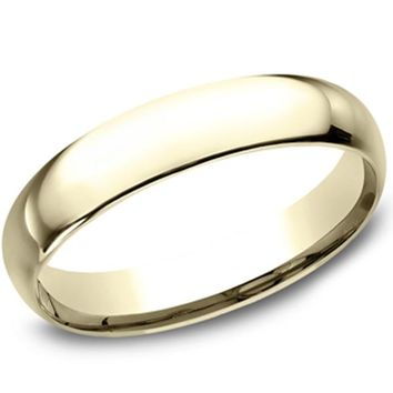 Benchmark Classic 4MM Comfort Fit High Polished Wedding Band