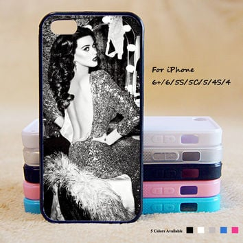 Katy Perry Phone Case For iPhone 6 Plus For iPhone 6 For iPhone 5/5S For iPhone 4/4S For iPhone 5C iPhone X 8 8 Plus