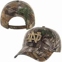 Notre Dame Fighting Irish '47 Brand Clean Up Adjustable Hat – Realtree Camo