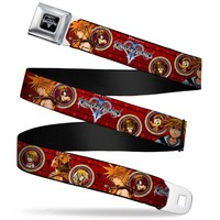 KINGDOM HEARTS Sora Poses Friend Cameos Seatbelt Belt
