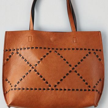 AEO Women's Street Level Reversible Tote (Tan)