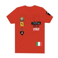 Club Foreign Italy T-Shirt in Red