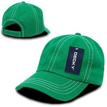 LMFON Ponce Decky New Contra Stitch Polo Washed Cotton Baseball Caps Hat