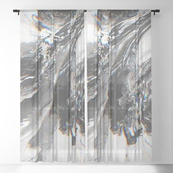 Purity Sheer Curtain by duckyb