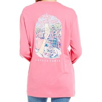 Lauren James Brunch Graphic Long-Sleeve Tee | Dillards