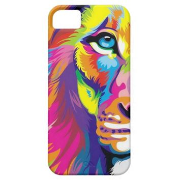 Colorful Lion iPhone 5 Case