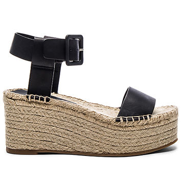 Abby Sandal in Black