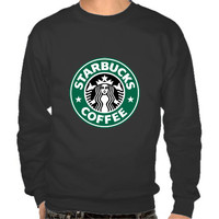 Starbucks Coffee men Sweatshirt hoodie tshirt shirt size S-3XL heat press transfer by Melissa2012us