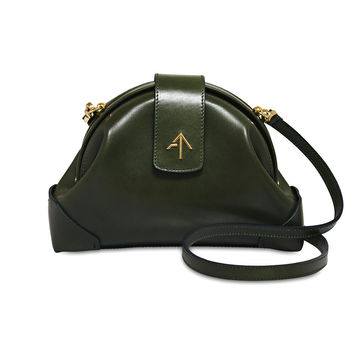 Green Vegetable Tanned Demi Cross Body Bag