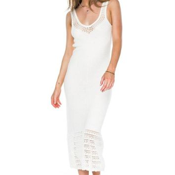 2018  Crochet Tunic Beach Pareo Beach Knitted Beach Dress Beach Cover up Praia Cover Salida de Playa Beachwear Cover up 9406