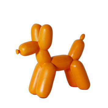 Big Top Balloon Dog Bookends Orange by imm Living