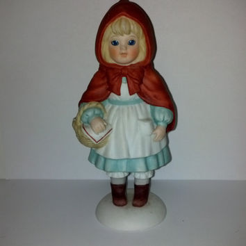 Little Red Riding Hood Enesco Limited Edition Storybook Dolls 60461