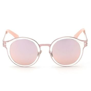 Fire Squad Sunglasses | Rose Gold