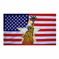 Stoney Statue Of Liberty Pot Flag 3x5 Feet