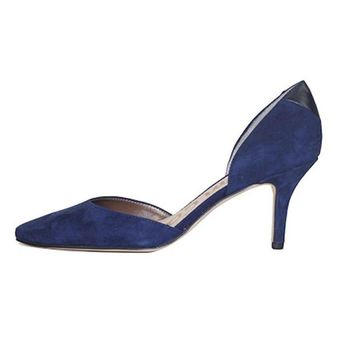 DCCKLP2 Sam Edelman for Women: Opal Navy Suede Heel