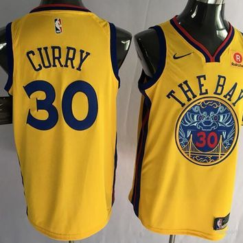 GS Warriors The City Curry Jersey