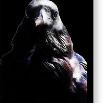 The Raven In My Dreams Canvas Print