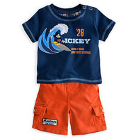 Disney Mickey Mouse Tee and Shorts Surf Set for Baby | Disney Store