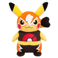 Pokemon Center Original Plush Doll : Masked Pikachu OA