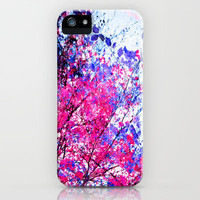Pink Tree iPhone Case by Mareike Böhmer | Society6