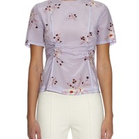 Floral-print silk top | Nina Ricci | MATCHESFASHION.COM US