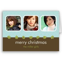 M Holiday Collection - Miller Card from Zazzle.com