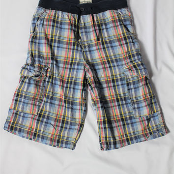 Boys Urban Pipeline Plaid Shorts, size Large, 16