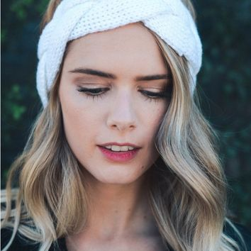 Braided crochet headband - 3 Colors!