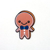 Ginger Bread Applique Iron on Patch