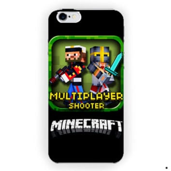 Battle Creeper Minecraft  For iPhone 6 / 6 Plus Case