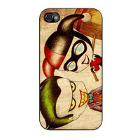 cute joker and harley quinn iPhone 4 4s 5 5s 5c 6 6s plus cases