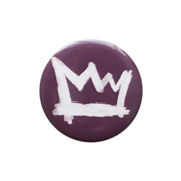 Crown Plum Button
