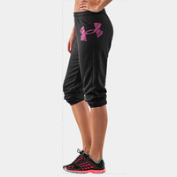 Women's UA Finesse Big Logo Varsity Pant | 1232096 | Under Armour US