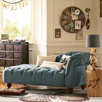 The Emily + Meritt Denim Chaise Lounge