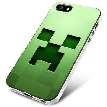 Minecraft Game Block iPhone 5 | 5S | 5SE Case Planetscase.com