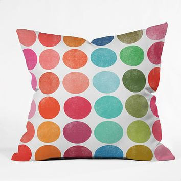 Garima Dhawan Colorplay 5 Throw Pillow