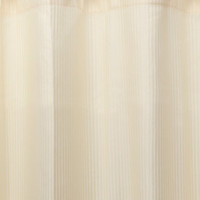 Carnation Home Fashions Fabric Shower Curtain Liner with Weighted Bottom Hem