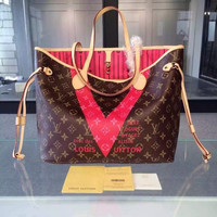 Louis Vuitton Canvas Monogram V Neverfull MM