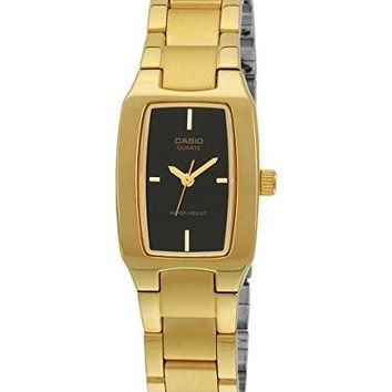 Casio #LTP1165N-9C Womens Metal Fashion Gold Tone Casual Analog Watch